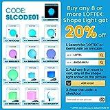 LOFTEK LED Light Cube: 4-inch RGB 16 Colors Cool