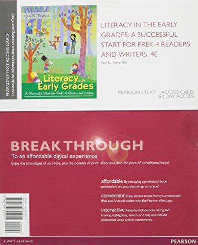 Literacy In Early...:..Pre.K 4.. Access