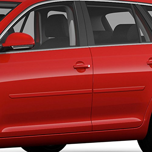 Amazon.com: FE-JET09WGN Finished End Body Side Molding for Volkswagen Jetta - LASER BLUE METALLIC (LC5J): Automotive