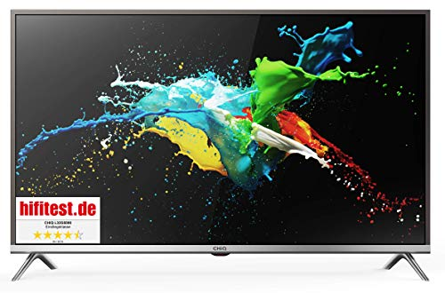 CHiQ 81cm (32 zoll) L32G5000 Smart HD LED-Fernseher,Netflix YouTube Triple Tuner, HDMI USB CI+, H.265, Dolby Plus, Grau…