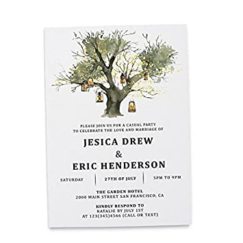 amazon com flat card wedding announcement invitation post wedding
