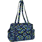 Vera Bradley Make a Change Baby Bag Indigo Pop