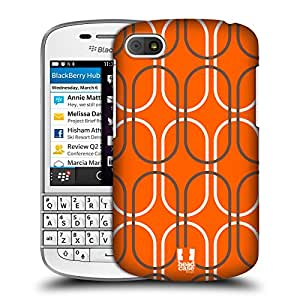 Head Case Designs Rust Mod Patterns Protective Snap-on Hard Back Case Cover for BlackBerry Q10