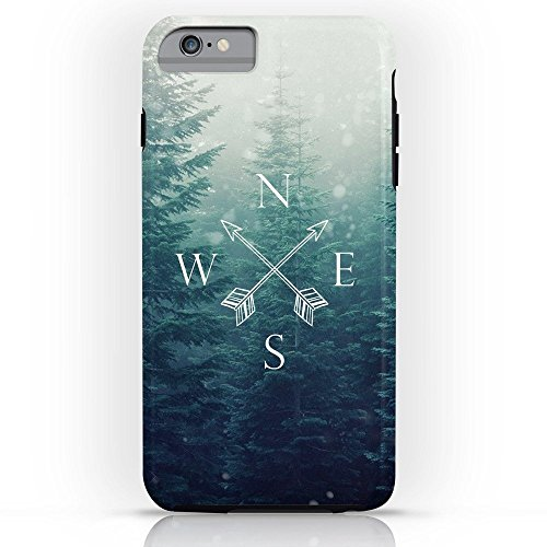 Roses Garden Phone Case Protectivedesign Cell Case Arrow Compass In The Winter Woods Tough Case iPhone 6 Plus