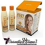 Kativa Keratina Tratamiento Post Alisado Shampoo + Conditioner + Deep Treatment