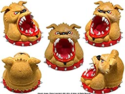 Bad Ass Dog From Hell - Open Mouth - Gifts and Decor Home Statue Bust By Nose Desserts Brand