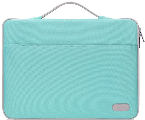 ProCase 12-12.9 inch Sleeve Case Bag for Surface Pro 6 2017 4 3, MacBook Pro 13, iPad Pro Carrying Cover Handbag for 11 12 Lenovo Dell Toshiba HP ASUS Acer Chromebook -Mint Green