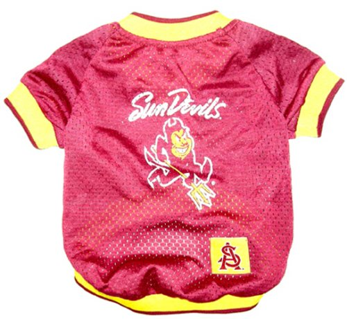 - NCAA Dog Jersey, Small, Arizona State University Sun Devils