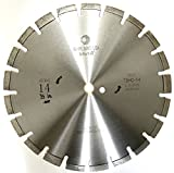 Whirlwind USA 14 inch Heatwave Dry Concrete Cutting Laser Welded Segmented Diamond Saw Blades (14'')