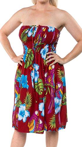 flower bandeau dress - 2