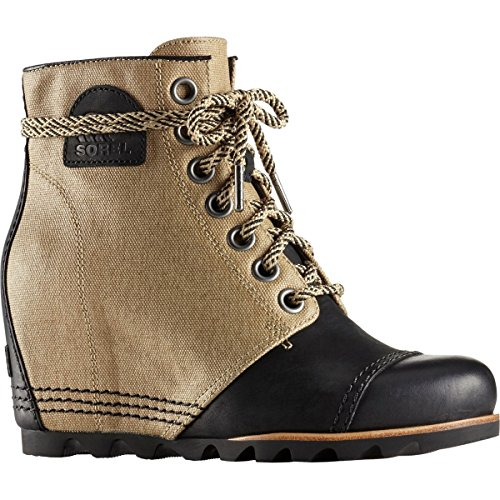 Beach Black Women's Sorel Shell Non Pdx Boot Wedge Y0pFUYq
