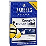 All-Natural Cough & Throat Relief, Nighttime, Extra Strength, Honey Lemon