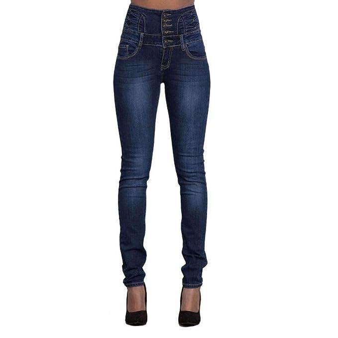 99d6ea5a Mr.Macy Women Pants, Ripped High Waist Slim Skinny Jeans Stretch Denim Hot  Pencil Denim Pants at Amazon Women's Jeans store