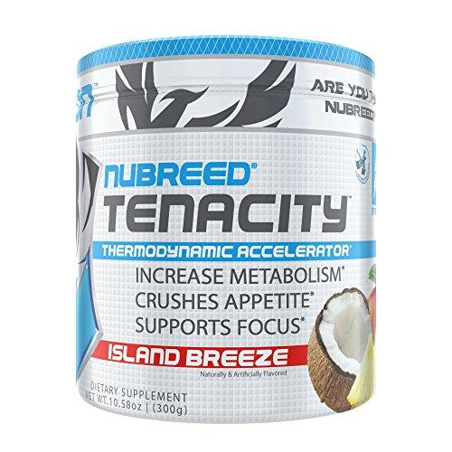 Nubreed Tenacity | Rapid Weight Loss Powder | Island Breeze | 60 Servings Review