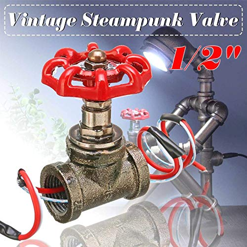 """3 Steampunk//Industrial//Iron Pipe-Lamp//Light Sockets 1-1//4/""""X1//2/"""" FREE SHIP SALE"""