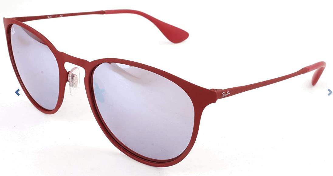 Erika Metal Non-Polarized Sunglasses (RB3539), Bordeaux/Pink Silver Mirror, 54 mm