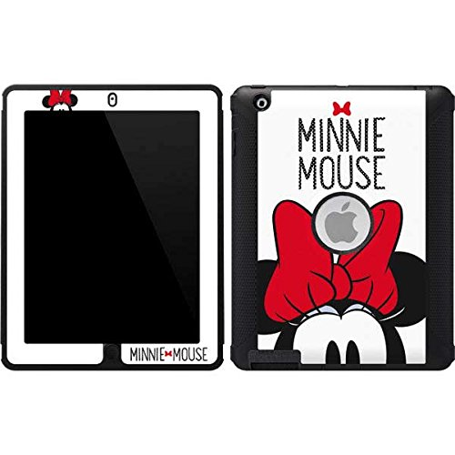 Skinit Minnie Mouse OtterBox Defender iPad 2/3/4th Gen Skin - Minnie Mouse Design - Ultra Thin, Lightweight Vinyl Decal Protection