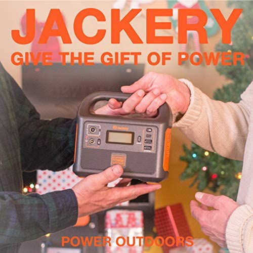 Jackery Portable Power Station Explorer 160, 167Wh Lithium Battery Solar Generator Solar Panel Optional Backup Power Supply with 110V 100W Peak 150W AC Outlet for Outdoors Camping Fishing Emergency