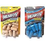 Hearos Ear Plugs: Xtreme Protection Series [14-Pair Foam] & Ultimate Softness Series [20-Pair Foam]