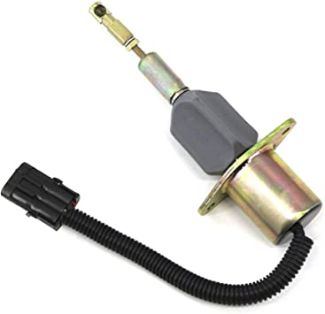 24V Fuel Shut Off Solenoid 3928161 SA-4293-24 24V For Hyundai R290 Excavator