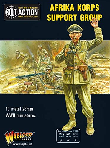 (Warlord Games, Bolt Action, Afrika Korps Support Group, Wargaming Miniatures)