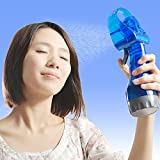 Portable Water Mist Spray Fan Air Cooler Conditioner By Shopping Tadka ( Assorted Color )