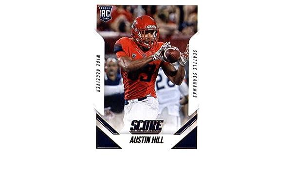 7276f9b8 Amazon.com: 2015 Score Rookie Football Card #348 Austin Hill NM-MT ...