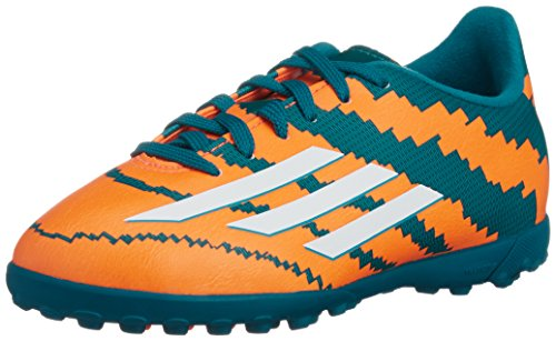 adidas Kinder Fussballschuhe Messi 10.3 TF 36 2/3 power teal f14/ftwr white/solar orange