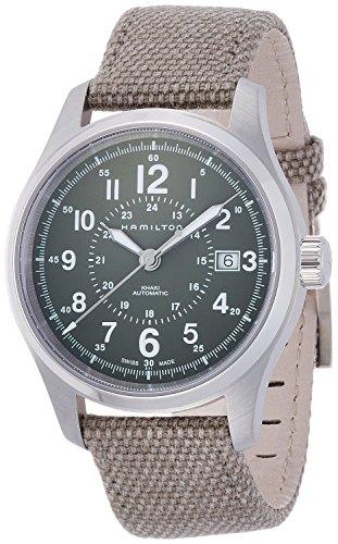 HAMILTON watch khaki field auto mechanical self-winding 10 water pressure H70595963 Men's [regular imported goods]