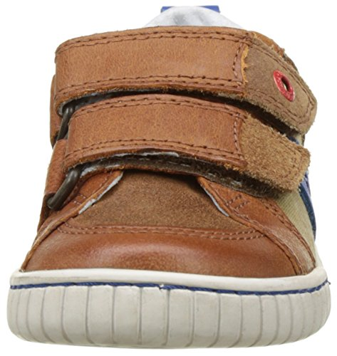Kickers Winner, Jungen Sneakers Marron (Camel Bleu)
