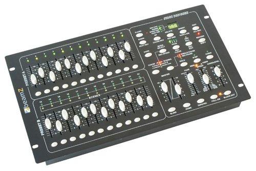Dmx-024pro panel de control de luces 24 canales scene se Beamz 154062