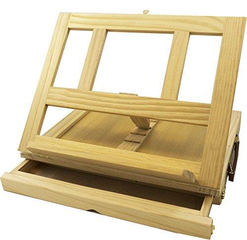 Solabela Kü nstler Tisch Staffelei (33, 5cm B x 25cm H x 7cm T) 70251