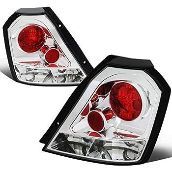 Red Rear Tail Lamp Fix Brake Light Lens Repair Tape for Chevrolet Aveo