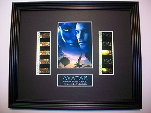 AVATAR Framed X10 Film Cell Display Collectible Memorabilia Complements Poster Book Theater
