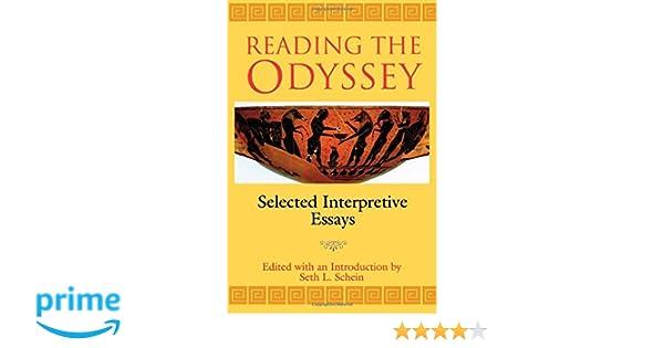com reading the odyssey seth l schein books