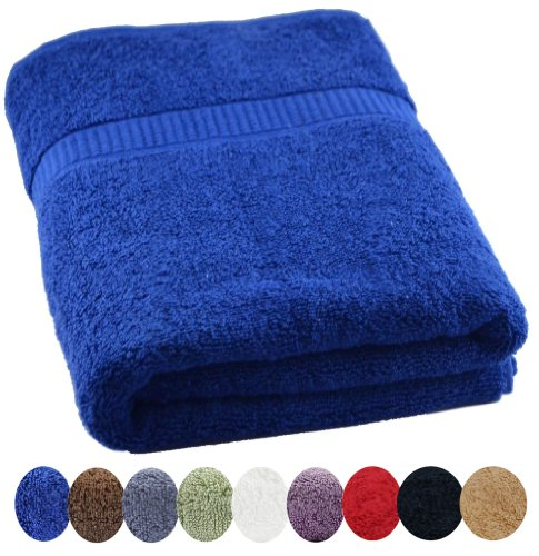 Utopia Luxury Bath Sheet 35-Inch x 70-Inch, Royal Blue