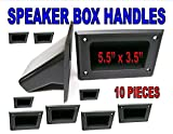 Nippon America HA-10 DJ Speaker Box Enclosure Pocket Handles Black Plastic 5.5'' X 3.5'' (5 Pair)