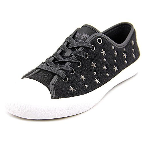 COACH Women's Empire Black Star Sneaker 9.5 M