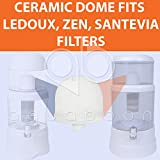 2-PACK of Korea Ceramic Dome Replacement Water
