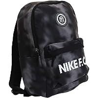 Nike Unisex_Adult Nk F.C. Bkpk Daypack, Black/Black/White, one size
