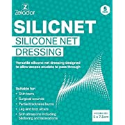 Silicone Net Dressing for skin tears, scars, surgical wounds and ulcers