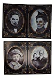 Holographic Horror Photos with Cardboard Frame Props -Set of four (each 5 x 7)