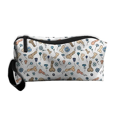 German Shorthair Pointer Dog Make-Up Cosmetic Tote Bag Carry Bags