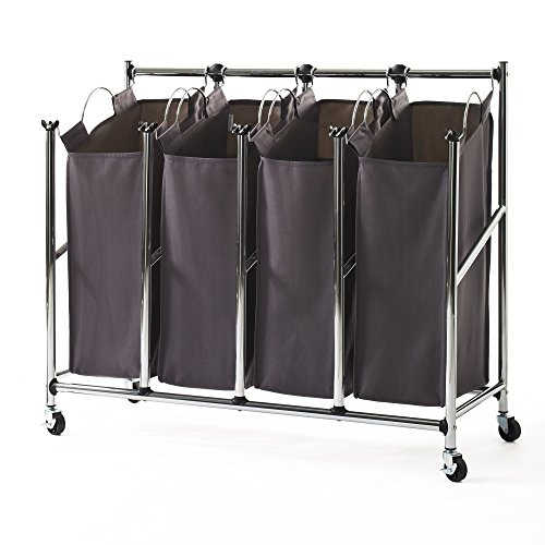 neatfreak Front Load Quad Laundry Sorter
