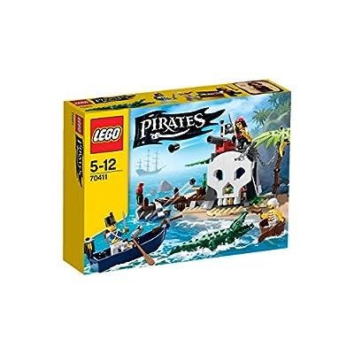 LEGO Pirates 70411 Treasure Island: Toys & Games