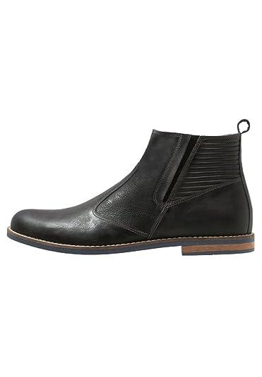 Pier One Bottines pour homme en gris, Chaussures bottines en cuir  élégantes, taille 40 89f434b1402d
