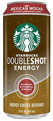 Starbucks Doubleshot Energy Cans, Mexican Mocha, 15 Ounce Cans, 12 Count