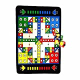 Kids Portable Fun Non-skid Game Carpet Baby Crawling Flying chess Boys and Girls Learning Development Intelligence Ludo Game Educational Games Bedroom Classroom Nurser