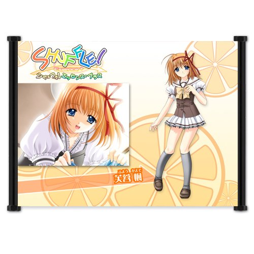 """Shuffle! Anime Fabric Wall Scroll Poster (21""""x16"""") Inches"""