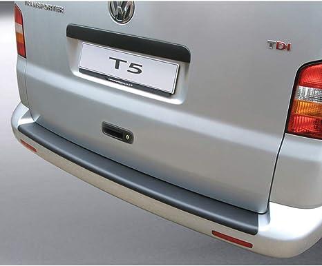 Chromeline Protection de Pare-Chocs arri/ère en Acier Inoxydable bross/é pour VW T5 Transporter Caravelle Multivan Entre 2003 et 2014